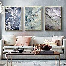 Toile de peinture à Texture de marbre, affiches