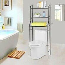 Toilette Etagère de salle de bain YOULUOSS Meuble