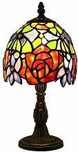 Tokira Lampe De Table De Style Tiffany 6 Pouces,