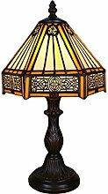 Tokira Lampe de Table Tiffany Brown 8 Pouces,