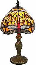 Tokira Tiffany Lampe de Bureau 8 Pouces, Jaune