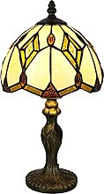 Tokira Tiffany Lampe de Table, 8 Pouces Baroque