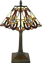 Tokira Tiffany Lampe de Table, 8 Pouces Carré
