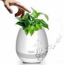 TOKQi Pot De Fleurs Musical Bluetooth Music