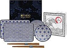 Tokyo Design Studio, Sushi Assiette+bol+baguette,