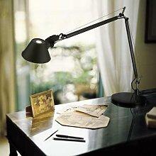 TOLOMEO MINI-Lampe de bureau H54cm aluminium noir