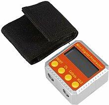 Tomantery Inclinomètre numérique Mini 4 x 90 °