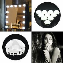 Tomshine 10pcs lampe de miroir de courtoisie