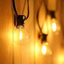 Tomshine Guirlande lumineuse LED G40 Ampoules