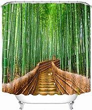 Tong XIN Bambou forêt clôture Chemin Vert