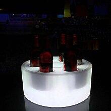 Tonneau à vin en bois LED Seau À Glace Bar