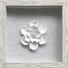 Tons Décoration murale en 3D en forme de fleur -