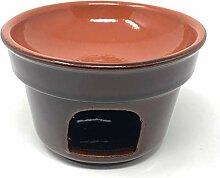 Toocook Réchaud en terre cuite Fond pour fondue