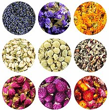 TooGet Parfumée Fleurs Séchées, Fleurs Pétales