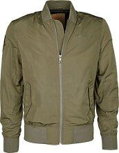 Top Gun 3038, veste textile - Vert Foncé - XL