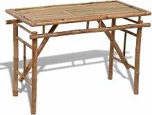 Topdeal VDTD26544_FR Table pliable de jardin