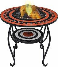 Topdeal VDTD30088_FR Table de foyer mosaïque