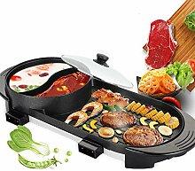 ToPQSC 2 en 1 Barbecue électrique Double cuisson