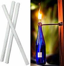 Torche de Tiki, Lampe à Huile, Support de