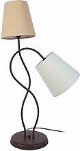 Tosel 60453 Lampe - Nice, Tôle et Tube Acier,