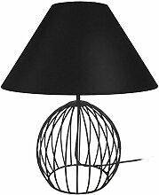 Tosel 63052 Lampe - Ball, Fil Acier, Peinture