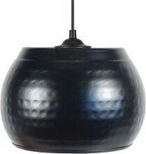 Tosel-calcuta - suspension plastique noir 1xe27 -