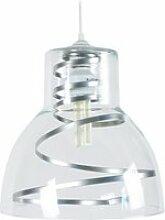 Tosel-cloche verre metal - suspension plastique et