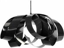 Tosel-evora - suspension plastique noir 1xe27 -