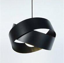 Tosel-gordium - suspension plastique noir 1xe27 -