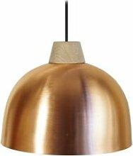 Tosel-half-ball - suspension plastique et bois