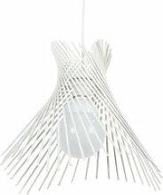Tosel-mikado - suspension plastique blanc 1xe27 -