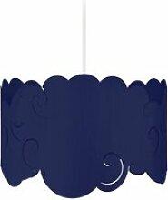 Tosel-nuage vrille - suspension plastique blanc