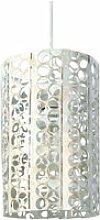 Tosel-zen - suspension plastique et acier blanc