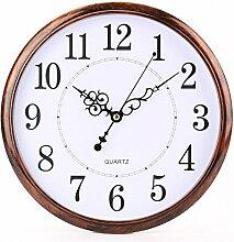 Tosnail Horloge Murale rétro silencieuse 30 cm