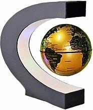 TOSSPER Globe Flottant avec Lumières LED C Forme