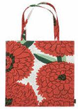 Tote bag Primavera / Coton - Marimekko orange en
