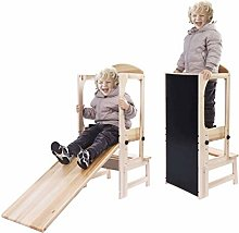 Tour d'apprentissage en bois pour enfants -