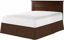 Tour de lit plissé, 100 % coton, plissé - Se