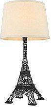 Tour Eiffel Lampe De Table Porte-Lampe En Fer