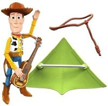Toy story woody et ses accessoires - figurine a