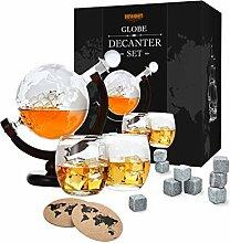Toys4Boys Carafe à whisky en verre 850 ml – 2