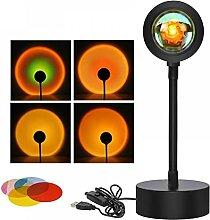 TQSDYY Coucher De Soleil Lampe Projecteur