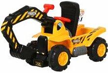Tracteur tractopelle porteur enfant dès 3 ans