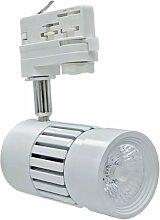 Trajectoire - Projecteur LED 8W pour rail 3