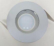Trajectoire - Spot encastré LED 6W gris Ø 110mm
