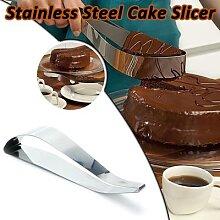 Trancheur de gâteaux en acier inoxydable,