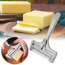 Trancheuse à fromage réglable râpe à beurre