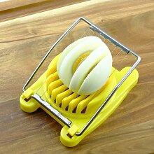 Trancheuse à œufs multifonction 3 couleurs,
