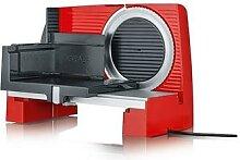 Trancheuse électrique SKS rouge 170 W lame 17 cm
