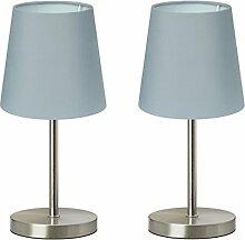 Trango 2 pack lampe de table Lampe de chevet lampe